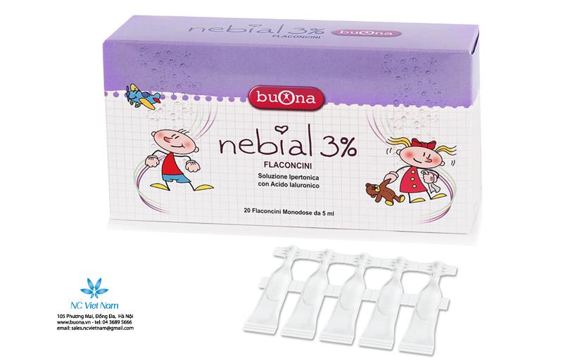 Nhỏ mũi Nebial 3%